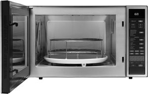 """DCM24S Dacor 24"""" Heritage Collection Convection Microwave with 10 Sensor Cooking Modes and High/Low Rack Positions - Stainless Steel"""