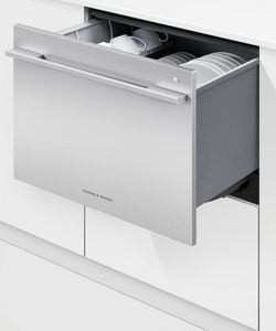 """DD24SDFTX9N Fisher & Paykel 24"""" DishDrawer Tall Single Dishwasher with SmartDrive and Nine Wash Options - Stainless Steel"""