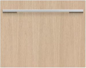 """DD24SHTi9N Fisher & Paykel 24"""" Panel Ready DishDrawer Tall Double Dishwasher with  Water Softener and Knock to Pause - Custom Panel"""