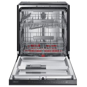 """DDW24M999US Dacor 24"""" Contemporary Semi-Integrated Dishwasher with Smart Control and Zone Booster - Stainless Steel"""