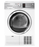 "DE4042P2 Fisher & Paykel 24"" Series 5 4.0 cu.ft Electric Condensing Dryer - White"