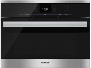 "DGC66001XLSS Miele 24"" CoutourLine Combi-Steam Oven with MultiSteam and SensorTronic Controls - Stainless Steel"