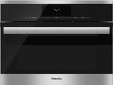 """DGC6700-1XL Miele 60 cm (24"""") ContourLine Combination Steam-Convection Oven with M Touch Controls - Stainless Steel -OPEN BOX"""