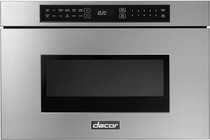 """DMR24M977WS Dacor 24"""" Contemporary Microwave Drawer - Silver Stainless Steel"""