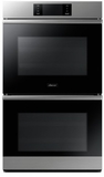"DOB30M977DS Dacor 30"" Modernist Collection Electric Double Wall Oven with BrightVue Lights - Stainless Steel"