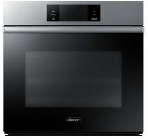 "DOB30M977SS Dacor 30"" Contemporary Steam Assisted Convection Single Wall Oven with LCD Control Panel and BrightVue - Silver Stainless Steel"