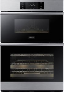 """DOC30M977DS Dacor 30"""" Contemporary Electric Speed Combination Wall Oven with Microwave Convection - Silver Stainless Steel"""
