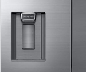 "DRF36C000SR Dacor 36"" Counter Depth Freestanding 4 Door French Door Refrigerator - Silver Stainless Steel"