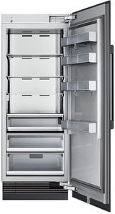 """DRR30980RAP 30"""" Dacor Contemporary 17.8 cu. ft. Right Hinge Column Refrigerator with FreshZone Drawer and Power Cool - Custom Panel"""