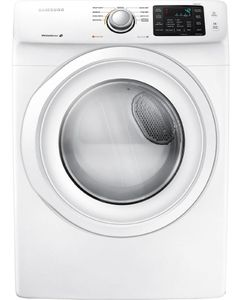 DV42H5000GW Samsung 7.5 cu. ft. Capacity Gas  Dryer - White