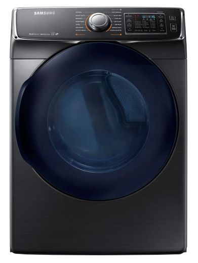 "DV45K6500EV Samsung 27"" 7.5 cu. ft. Electric Dryer with 14 Dry Cycles and 11 Dry Options - Black Stainless"
