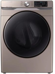 """DVG45R6100C Samsung 27"""" Smart Care Gas Front-Load Dryer with Steam Sanitize+ Cycle and Sensor Dry - Champagne"""