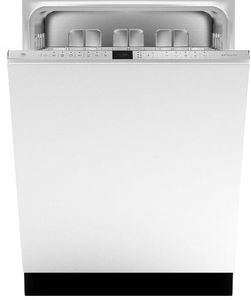 "DW24PR Bertazzoni 24"" Professional Dishwasher with 6 Wash Cycles and 2 Pump System - Custom Panel"
