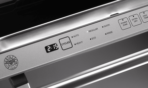 "DW24XV Bertazzoni 24"" Fully Integrated Dishwasher with 14 Place Setting Capacity and 6 Wash Cycles - Stainless Steel"