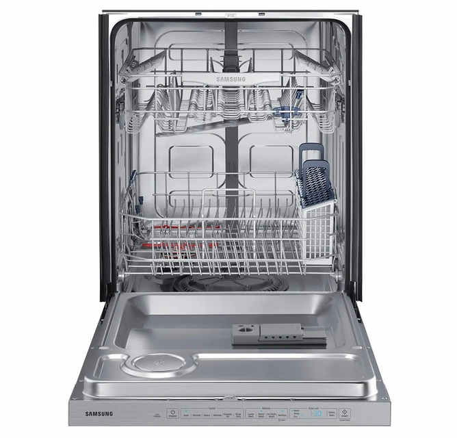 Dw80k5050us Samsung 24 Fully Integrated Dishwasher With 6