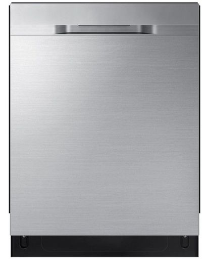 "DW80R5060US Samsung 24"" Built In Dishwasher with StormWash and AutoRelease Door - Recessed Handle - Fingerprint Resistant Stainless Steel"