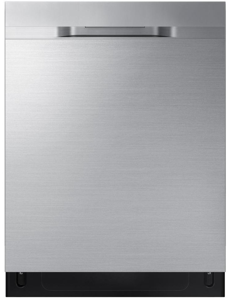 Dw80r5060us Samsung 24 Built In Dishwasher With Stormwash And Autorelease Door Recessed Handle Fingerprint Resistant Stainless Steel