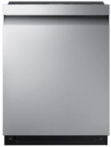 "DW80R7060US Samsung 24"" Built In Dishwasher with StormWash and AutoRelease Door - Recessed Handle - Fingerprint Resistant Stainless Steel"