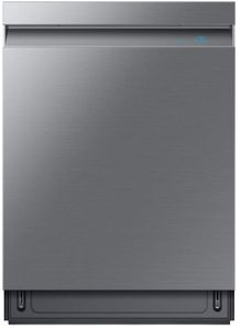 "DW80R9950US Samsung 24"" Built In Dishwasher with Linear Wash System and Zone Booster - Fingerprint Resistant Stainless Steel"