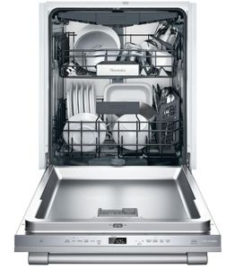 "DWHD650WFP Thermador 24"" Professional Emerald 6 Program Dishwasher with Chef's Tool Drawer and Extra Dry Option - Stainless Steel with Professional Series Handle"