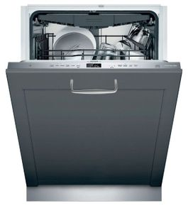 """DWHD650WPR Thermador 24"""" Emerald 6 Program Dishwasher with Chef's Tool Drawer and Extra Dry Option - Custom Panel"""
