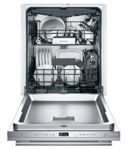 "DWHD660WFM Thermador 24"" Masterpiece Topaz 6 Program Dishwasher with Chef's Tool Drawer and Extra Dry Option - Stainless Steel with Masterpiece Series Handle"