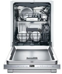 """DWHD660WFP Thermador 24"""" Professional Topaz 6 Program Dishwasher with Chef's Tool Drawer and Extra Dry Option - Stainless Steel with Professional Series Handle"""
