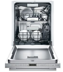 "DWHD770WFM Thermador 24"" Masterpiece Sapphire 7 Program Dishwasher with StarDry and Sapphire Glow - Stainless Steel with Masterpiece Series Handle"