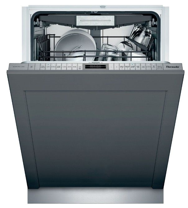 Dwhd770wpr Thermador 24 Sapphire 7 Program Dishwasher With Stardry And Sapphire Glow Custom Panel