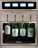 "DYWS4 Dacor 20"" Professional Freestanding 4 Bottle Wine Dispenser - Stainless Steel"
