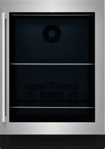 """EI24BC15VS Electrolux 24"""" Under Counter Beverage Center - Reversible Hinge - Glass Door with Stainless Steel Frame"""