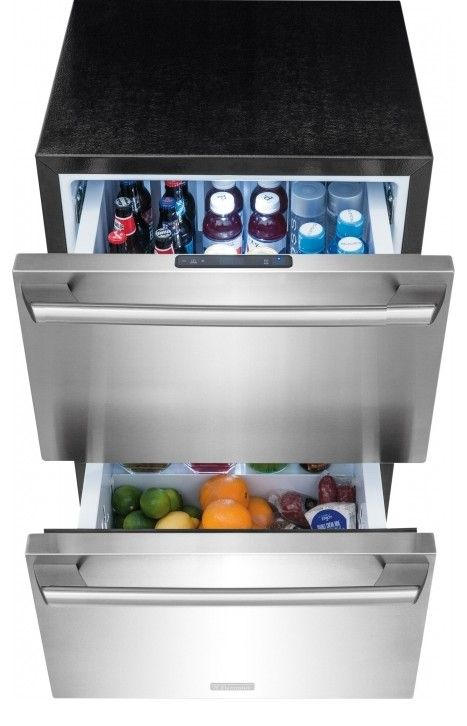 Ei24rd10qs Electrolux Undercounter Refrigerator Drawers Stainless Steel
