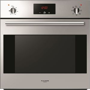 """F1SM24S2 Fulgor Milano 24"""" 2.4 cu. ft. Single Wall Electric Oven with True European Convection and Concealed Bake Elements - Stainless Steel"""