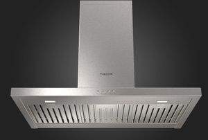 """F4CW30S1 Fulgor Milano 30"""" Distinto Chimney Wall Hood with 600 CFM Blower - Stainless Steel"""