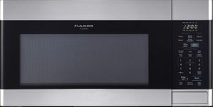 """F4OTR30S1 Fulgor Milano 30"""" Over The Range Microwave with 10 Power Levels and LED Lighting - Stainless Steel"""