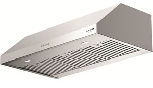 """F4UC36S1 36"""" Fulgor Milano 400 Series Under Cabinet Hood with 450 CFM Blower and LED Lighting - Stainless Steel"""