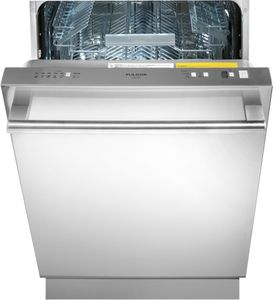 """F6DW24SS1 Fulgor Milano 24"""" Fully Integrated Dishwasher with Turbidity Sensor,9 Wash Cycles and Designer Handle - Stainless Steel"""