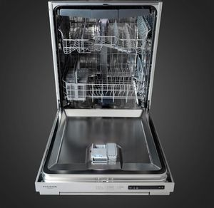 "F6DWT24SS2 Fulgor Milano 24"" Built In Top Control Dishwasher - Stainless Steel"