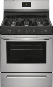"""FCRG3052AS Frigidaire 30"""" Freestanding Gas Range with Quick Boil and Sealed Gas Burners - Stainless Steel"""