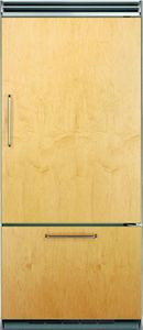 "FDBB5363ER Viking 36"" Professional Bottom Mount Refrigerator with ProChill Temperature Management - Right Hinge - Custom Panel"