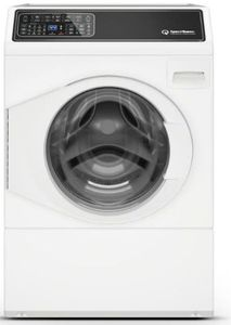 "FF7005WN Speed Queen 27"" Front Load Front Control Washer with Balance Technology and Durable Stainless Steel Tub - Left Hinge - White"