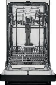 "FFBD1831UB Frigidaire 18"" Built-In Dishwasher with Heated Drying System and Multiple Cleaning Cycles - Black"