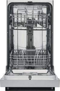 """FFBD1831US Frigidaire 18"""" Built-In Dishwasher with Heated Drying System and Multiple Cleaning Cycles - Stainless Steel"""