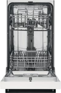 "FFBD1831UW Frigidaire 18"" Built-In Dishwasher with Heated Drying System and Multiple Cleaning Cycles - White"