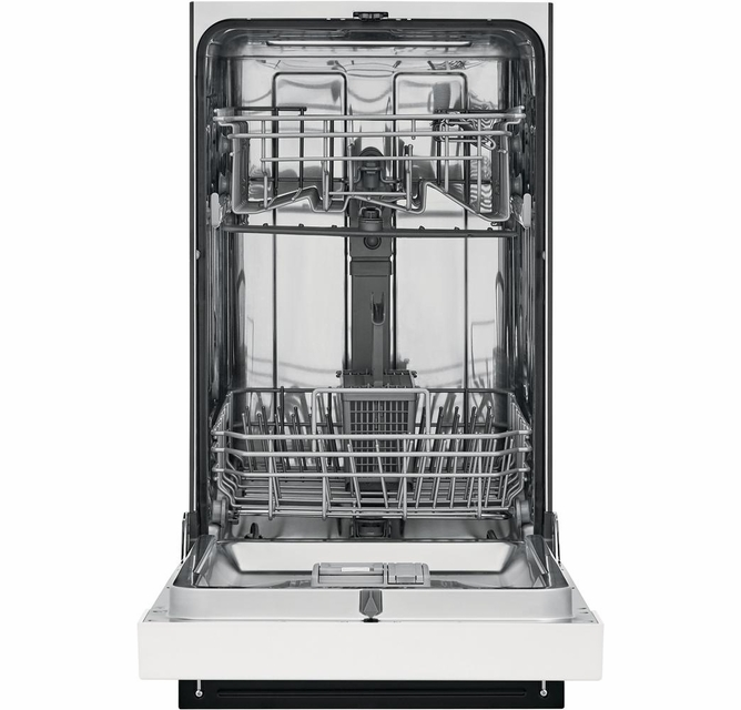 Ffbd1831uw Frigidaire 18 Built In Dishwasher With Heated Drying System And Multiple Cleaning Cycles White