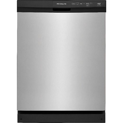 "FFCD2413US Frigidaire 24"" Built-In Dishwasher with Heated Drying System and Filtration System - Stainless Steel"