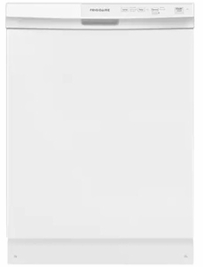 "FFCD2413UW Frigidaire 24"" Built-In Dishwasher with Heated Drying System and Filtration System - White"