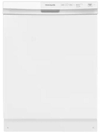 """FFCD2413UW Frigidaire 24"""" Built-In Dishwasher with Heated Drying System and Filtration System - White"""