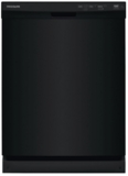 "FFCD2418UB Frigidaire 24"" Built in Full  Console Dishwasher with 5 Wash Cycles and Hard Food Disposer - Black"