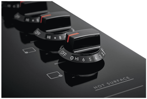 """FFEC3025UB Frigidaire 30"""" Electric Smoothop Cooktop with Hot Surface Indicator and Ready-Select Controls - Black"""